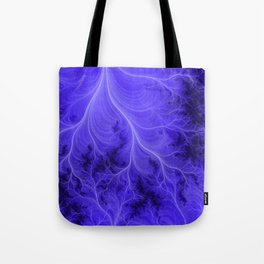 Lightning Nebula Tote Bag