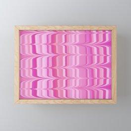 Birds In Flight In Shades of Pink Framed Mini Art Print