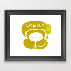 Wonder-ful Framed Art Print