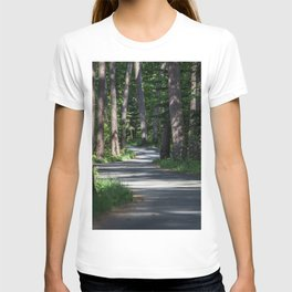 Itasca's Winding Road T-shirt