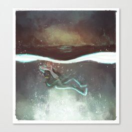 Child of the Depths Canvas Print