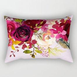 Flowers bouquet #38 Rectangular Pillow