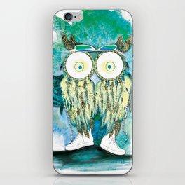 Watercolor Dreamcatcher Owl iPhone Skin