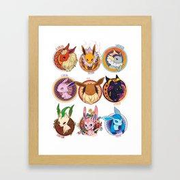 Eevee Framed Art Print