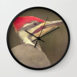 Drummer of the Forest Wall Clock