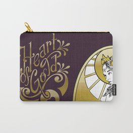 Heart of Gold - wording only Carry-All Pouch