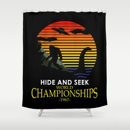 Hide And Seek World Championships 1967 Shower Curtain