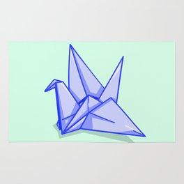 Origami Crane Rug