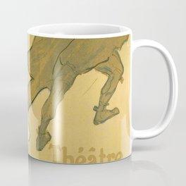 """Henri de Toulouse-Lautrec """"Théatre Antoine, la Gitane de Richepin"""" Coffee Mug"""