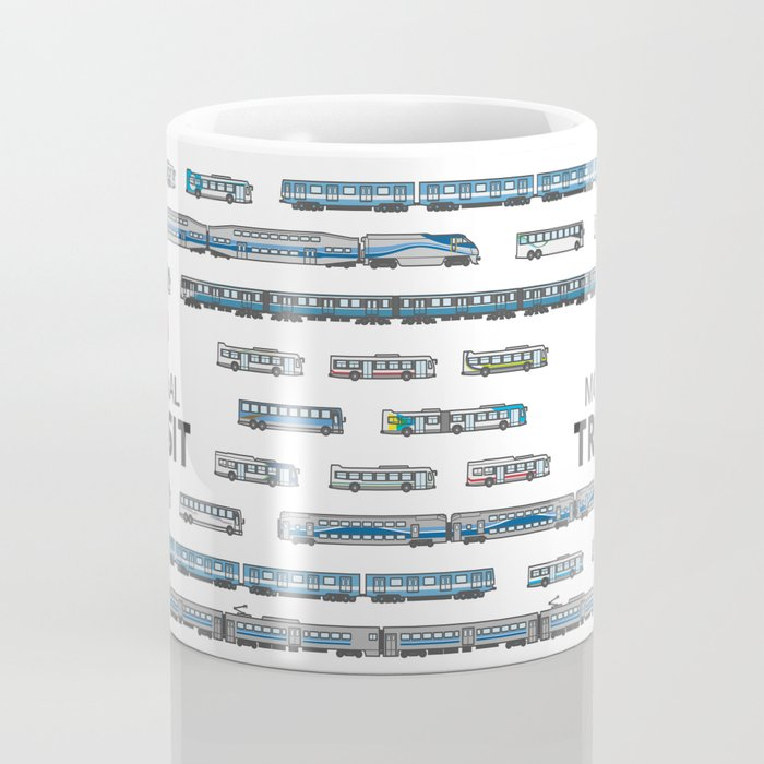 The Transit of Greater Montreal Coffee Mug
