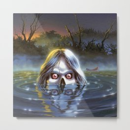 The Curse of Camp Cold Lake Metal Print