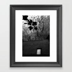 Window in the skies Framed Art Print