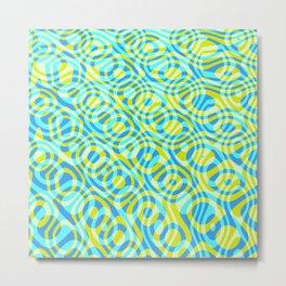Mixed Polyps Yellow - Coral Reef Series 039 Metal Print