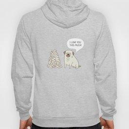 Pug's love Hoody