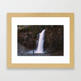 Franklin Falls Framed Art Print