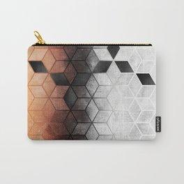 Ombre Concrete Cubes Carry-All Pouch