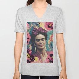 Frida Kahlo VIII Unisex V-Neck