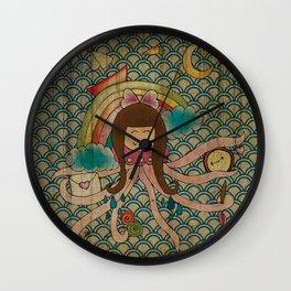I'm A Little Octopus Wall Clock