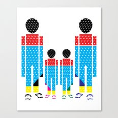 Familly Canvas Print