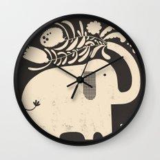 SPREADING JOY Wall Clock