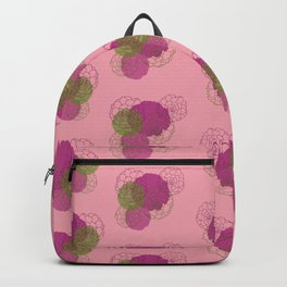 Succulents (pink) Backpack