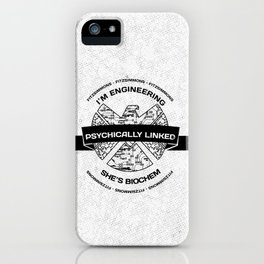 fitzsimmons - psychically linked iPhone Case