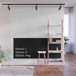 Dance x 3 Wall Mural