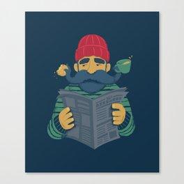 Oh Captain Canvas Print