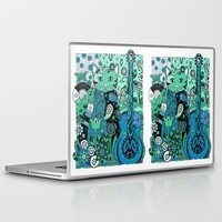 hippy Laptop & iPad Skins featuring Hippy Puss by SwanniePhotoArt