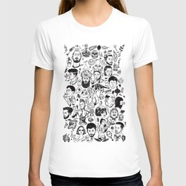 Things 1 - Black and white T-shirt
