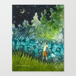 Firefly Nights Canvas Print