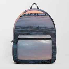 Sunrise at the Pond Backpack