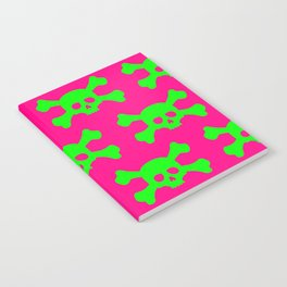 Toxic Skull Notebook