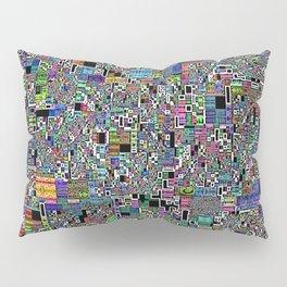 Handmade Fractal Geo Abstract 1 Pillow Sham