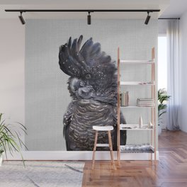Black Cockatoo - Colorful Wall Mural