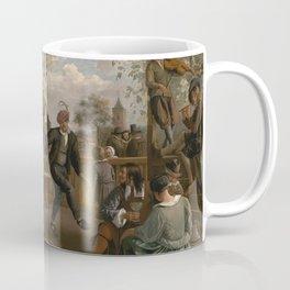 Jan Steen The Dancing Couple 1663 Painting Coffee Mug