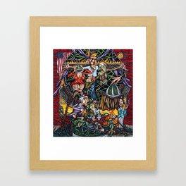 Christ Goes to Hollywood Framed Art Print