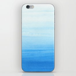 Blue Wash iPhone Skin