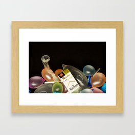 Parental Guidance is Advised Framed Art Print