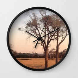 Countryside - Color Wall Clock