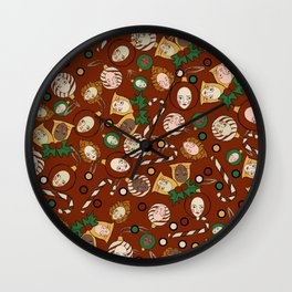 just tried to be Chrismas Wall Clock
