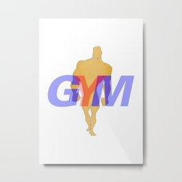 GYM Man 4 Metal Print