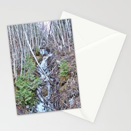 Mountain Side Creek  Stationery Cards