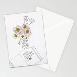 Vivid Flowers Stationery Cards