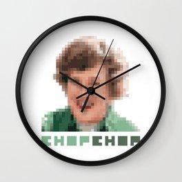 Chop Chop - Julia Child Wall Clock