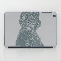 mozart iPad Cases featuring Wolf Amadeus Mozart by Joshua Kemble