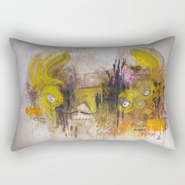 Mean Green Dual Action Minitiger Rectangular Pillow