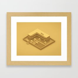 Motel Framed Art Print