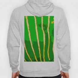 Green Bongo Stripes Hoody