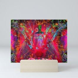Female Fire Mini Art Print